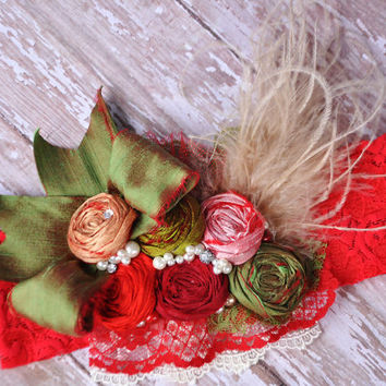 Candy Apple boutique couture headband