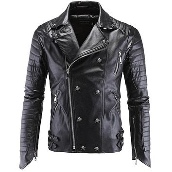 Jacket Men Winter 2017 Coat Male Bomber Jacket Men Leather Clothing Harley Brand Outwear Mens Cotton Jackets Clothing 5XL