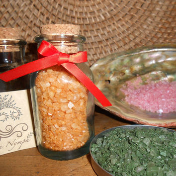 Bath Salts - The EARTH SPIRIT Collection - Pure and Natural - Four Ounces