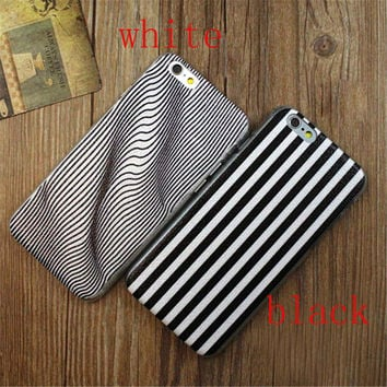 Twisted Stripes Print iPhone 5/5S/6/6S/6 Plus/6S Plus creative case Gift Very Light creative case-28