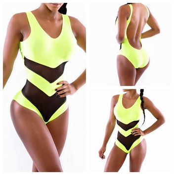 Shaping Body One-Piece Swimsuit = 1955884804