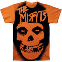 Misfits Men's  Stencil Subway T-shirt Heather