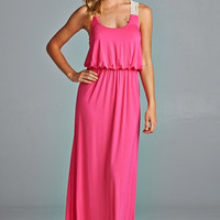 Summer Time Maxi Dress - Pink