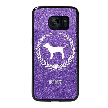 PINK DOG VICTORIA'S SECRET Samsung Galaxy S7 Edge Case Cover