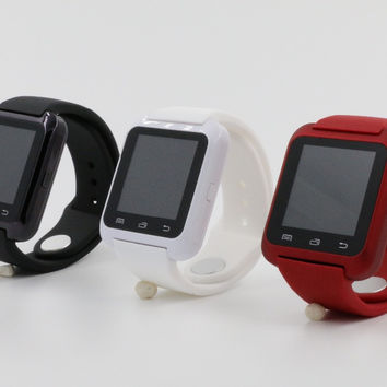 Hot sale Bluetooth smart watch U8 Wrist smartWatch for Samsung S4/Note2/3 for HTC for LG for Xiaomi Android Phone Smartphones
