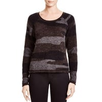 Townsen Womens Knit Colorblock Pullover Sweater