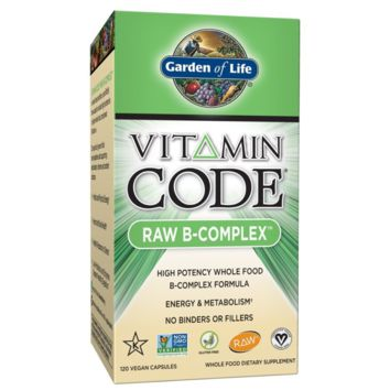 Garden of Life Vitamin B Complex - Vitamin Code Raw B Vitamin Whole Food Supplem