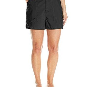 Maxine Of Hollywood Womens PlusSize Woven Board Shorts
