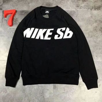 DCCKB62 NIKE Cotton round neck long-sleeved sweater street men and women lovers section G-A-GHSY-1