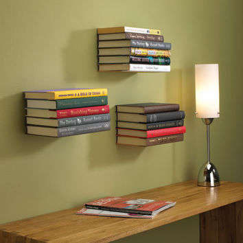 Conceal Floating Bookshelf by Umbra | Conceal Shelf