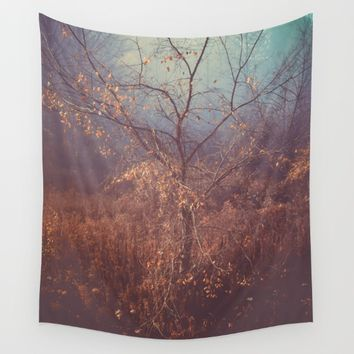 Another Story Wall Tapestry by Faded  Photos