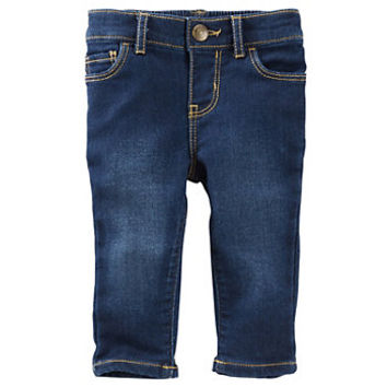 Baby Girl OshKosh B'gosh® Faded Jeans