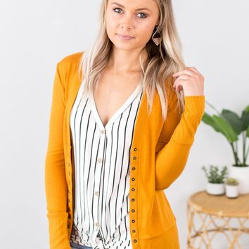 *NEW COLORS* Perfectly Snapped Cardigan - Multiple Options