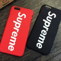 Unique fashion supreme Phone Case Cover for Apple iPhone 8 8PLUS X 7 7 Plus 5S 5 SE 6 6S 6 Plus 6S Plus + Nice gift box! LJ161101-007