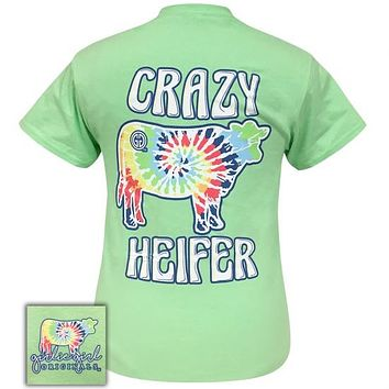 Girlie Girl Originals Preppy Crazy Heifer Tie Dye T-Shirt