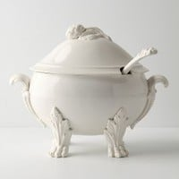 Beast's Feast Tureen by Anthropologie in White Size: One Size Kitchen