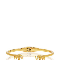 Kate Spade Golden Elephant Cuff Gold ONE