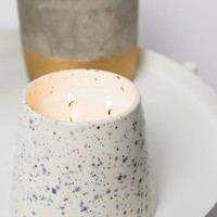 Paddywax Confetti Large Salt Water and Lily Candle 14oz at asos.com
