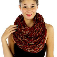 CHRISTMAS GIFT for her Christmas Gift for him Unisex  Knit Warmer Scarf