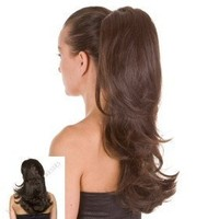 Dual Style Long Ponytail Hairpiece | Available in 16 Colors | Blonde to Black