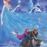 Frozen Disney Movie Poster 22x34