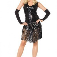 Leg Avenue 3PC Gatsby Girl Costume