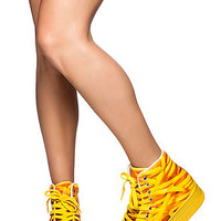 The HOMG Sneaker in French Fry Print