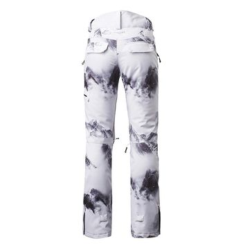 Winter snowboard pants for women thicken female ski pants woman snow trousers thermal waterproof skiing