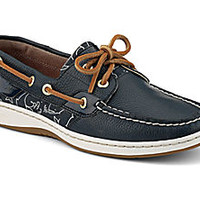 Critter Print Bluefish 2-Eye Boat Shoe