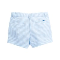 Girls Seersucker Boulevard Shorts