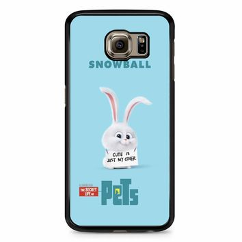 The Secret Life Of Pets Snowball Poster Samsung Galaxy S6 Case