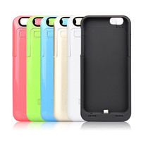 New 3500mAh Rechargeable External Power Bank Charger Pack Backup Battery Case Cover for iPhone 6 6s 4.7""