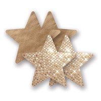 Nippies® Superstar Gold Star Pasties Superstar Gold Star Pasties Gold A-DD