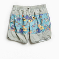 UO X Katin Floral Colorblocked Dolphin Swim Short - Urban Outfitters