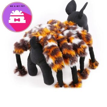 Petalk New Halloween Quality Costume for Pet Funny Spider Party Dog Clothes Suit S M L