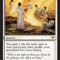 2012 Magic the Gathering Dark Ascension #1 Archangel's Light M :W::Amazon:Collectibles