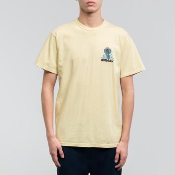 Stussy Cobra Daze Tee - Natural