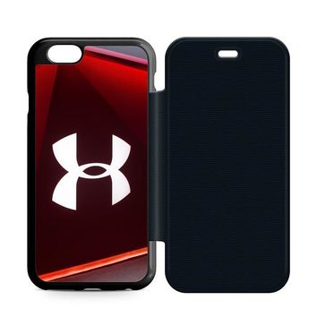 Under Armour Glass Leather Wallet Flip Case iPhone 6 | 6S