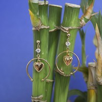 Theia Heart Earrings