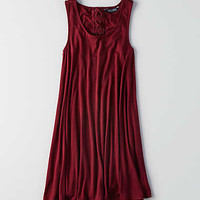 AEO Soft & Sexy Crepe Dress, Wine