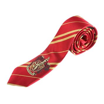 Harry Potter Gryffindor Series Tie style Gift New 4 Color Fashion Tie Clothing Accessories Borboleta Necktie College Style Tie