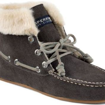 Sperry Top-Sider Mackenzie Slipper Bootie Graphite, Size 7M  Women's Shoes