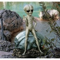Design Toscano Roswell the Alien Sculpture | Jet.com