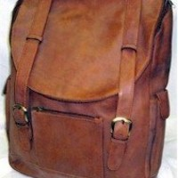 Vaqueta Leather Backpack