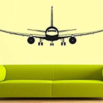 Wall Decal Vinyl Sticker Decals Art Decor Design Airplane Military War Air Aviation Sky Attack Man Boys Bedroom Living Room Nursery(r838)