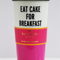 Eat Cake Thermal Mug: Kate Spade