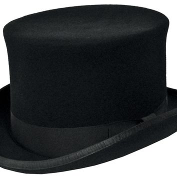 Prince Charles Top Hat Black for Halloween