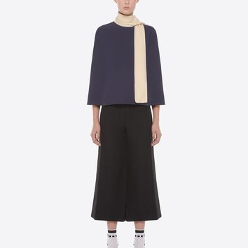 Valentino Light Cady Cape Top, Tops for Women - Valentino Online Boutique