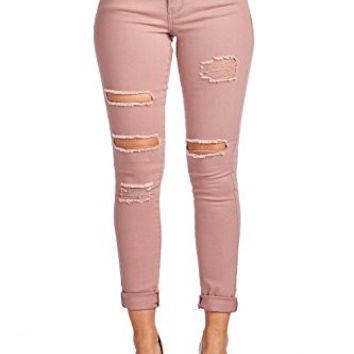 BLUE AGE Multistyle Denim and Cotton Skinny Jeans / Pants