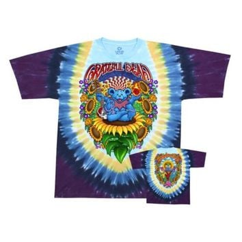 Grateful Dead - Guru Bear Apparel T-Shirt - Tie Dye - Walmart.com